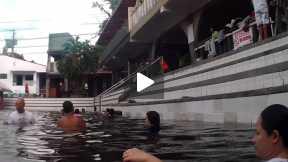 Poolside Aerobics
