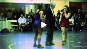 Wrestling - Kelsey Campbell and Sam Stewart