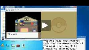 Pokemon Platinum nds gameplay using DeSmuME emulator - Part 1