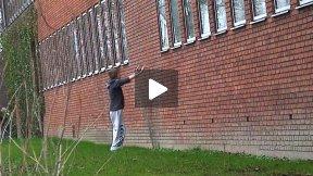 Parkour Training in Aarhus, Denmark