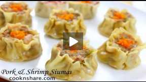 How to Make Pork and Shrimp Siomai