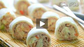 How to Make Tuna Rolls