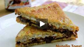 How to Make Nutella Banana Toast