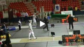 Padova World Cup 2011 - L32 - Yakimenko RUS v Apithy FRA