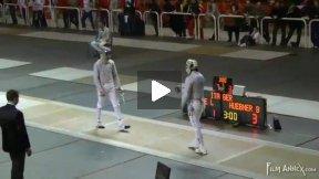 Padova World Cup 2011 - L32 - Huebner GER v Samele ITA