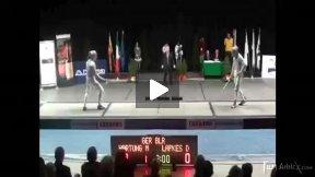 Padova World Cup 2011 - L4 - Lapkes BLR v Hartung GER