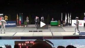 Padova World Cup 2011 - L4 - Gu KOR v Zalomir ROU