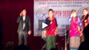 All Assam Gorkha Student Union organised Dohori competition yesterday
