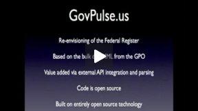 Final - DC Law.Gov Session 4.1 - The GovPulse.US Team (2010)