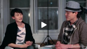 Model Interview New York City - Gwen Lu 采 访 Jerry Fu, Part 1