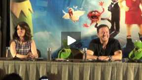 The Muppets Most wanted...........Press Conference