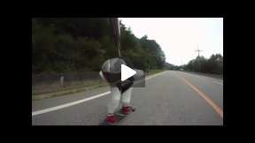 Longboarding from Korea!