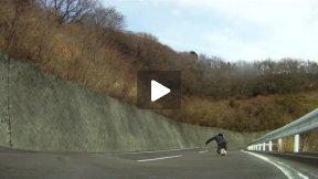 Sadao Keisuke Downhill Skateboaring