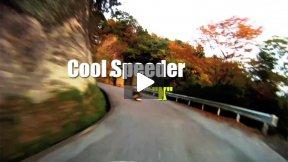 Winter Downhill Skateboarding