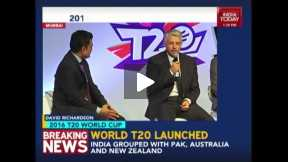 T20 World Cup launched in Mumbai