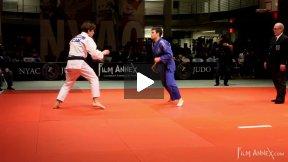 Briand (CAN) VS Tomasini (ITA), NY Open Judo 2011 Team Championship