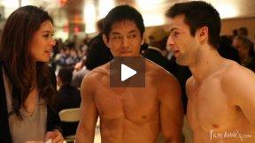 Perrault (CAN) VS Ambrosio (ITA), NY Open Judo 2011 Team Championship