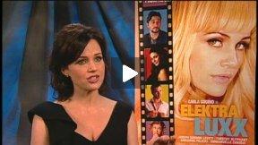 "Carla Gugino Talks About ""Elektra Luxx!"