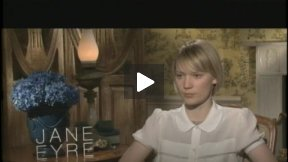 """Mia Wasikowska Talks About """"Jane Eyre"""
