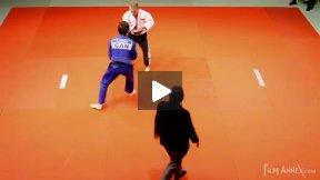 Wallich (GER) vs Briand (CAN),NY Open Judo 2011 Team Championship