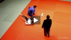 Herzig (GER) vs Imagawa (CAN),NY Open Judo 2011 Team Championship