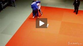 Gess (GER) vs Perrault (CAN),NY Open Judo 2011 Team Championship