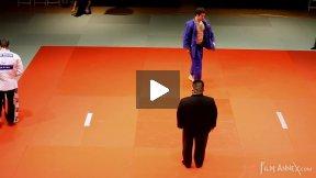 Kirsten (GER) vs Sheykhislyamov (CAN),NY Open Judo 2011 Team Championship