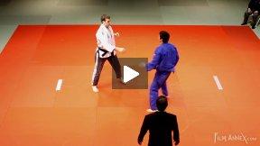 Gerzer (GER) vs Sheykhislyamov (CAN),NY Open Judo 2011 Team Championship