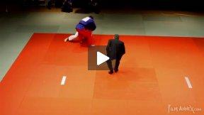 Stevens (USA) vs Ambrosio (ITA),NY Open Judo 2011 Team Championship