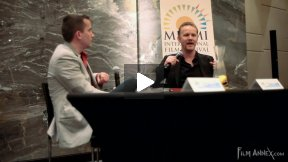 Morgan Spurlock at MIFF 2011 Part 1