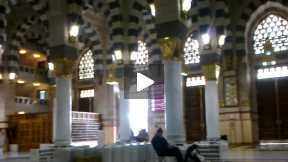 Inside of Masjid e Nabvi