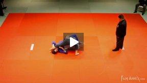 Wallich (GER) vs Briand (CAN),NY Open Judo 2011 Team Championship, second round.