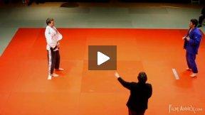 Gerzer (GER) vs Sheykhislyamov (CAN),NY Open Judo 2011 Team Championship, second round.