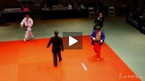 Delpopolo (USA) vs Mella (ITA),NY Open Judo 2011 Team Championship, second round.