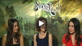 "Jamie Chung, Jena Malone, and Vanessa Hudgens Talk ""Sucker Punch"""