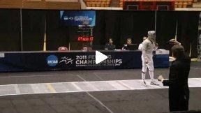 NCAA Fencing 2011 - Men's Sabre Gold Medal Bout: Homer SJU v Zuck ND
