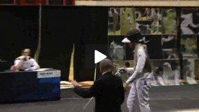 NCAA Fencing 2011 - Men's Foil Gold Medal Bout: Chamley-Watsom PSU v DeSmet ND