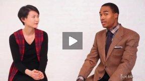 Model Interview New York City - Gwen Lu + Marcell Harris (part 1)