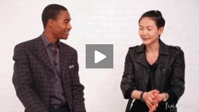 Model Interview New York City - Marcell Harris + Gwen Lu (part 2)
