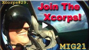 Xcorps Action Sports TV #29.) MIG-21 seg.2 HD