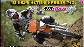Xcorps Action Sports TV #42.) MX GIRLS seg.3 HD