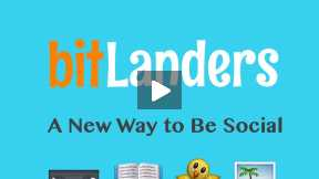 bitLanders: A New Way to Be Social
