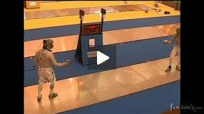 Dourdan Junior World Cup 2008 - L64 - Shevlyakov RUS v Fenwick IRL