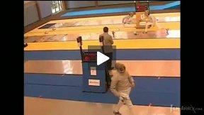 Dourdan Junior World Cup 2008 - L32 - Pellegrini ITA v Regulewski POL
