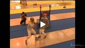 Dourdan Junior World Cup 2008 - L16 - Pellegrini ITA v Miramon Choy FRA