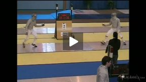 Dourdan Junior World Cup 2008 - L16 - Hirzmann GER v Iliasz HUN