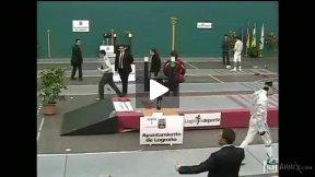 Logrono Junior World Cup 2009 - L16 - Auguste Poggioli FRA v Guibelalde ESP