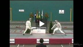Logrono Junior World Cup 2009 - L8 - Guibelalde ESP v Hirt FRA