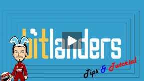 [bitLanders Tips & Tutorial] How to change bitLanders video cover?