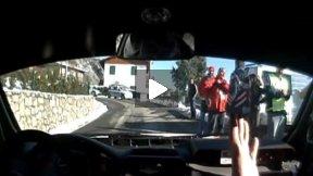 Ronde Città dei Mille 2010 Arici M. - Cortinovis F. Toyota Corolla WRC Shakedown 1
